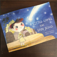 A Little Camel for Baby Jesus, written and illustrated by Maria Gianola It's never too early to be looking for the perfect read aloud for Advent and Christmas, and A Little Camel for Baby Jesus would be a sweet addition to any home or classroom. The creative illustrations are full of texture and depth, layering drawings with backgrounds made from fabric, fiber, and paper. It tells a sweet story about generosity and reminds us that nothing we give to God is ever to small, which is an important message to our littlest kids (and big kids too!).
