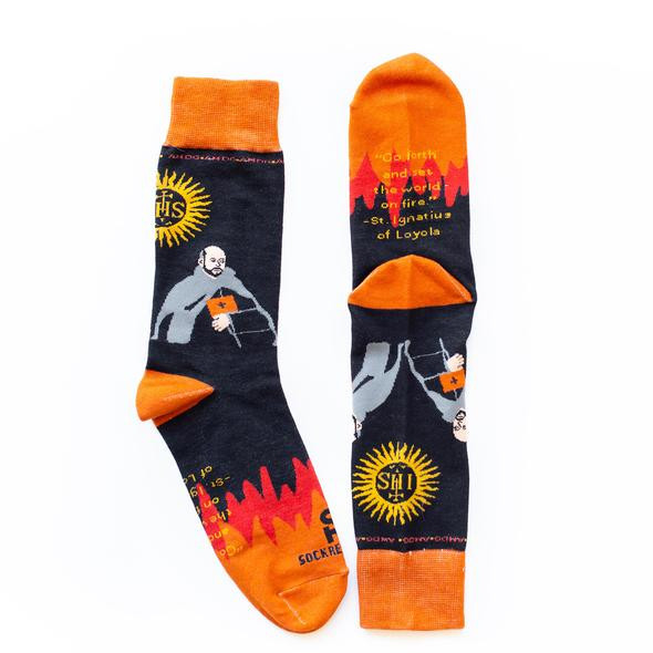 Spiritual socks, Let Go Let God Socks