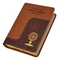 This comprehensive, all-inclusive Missal—with magnificent full-color illustrations—provides everything necessary to participate fully in each Sunday, Vigil, and Holyday Mass. The celebrant's and people's prayers (in boldface type) are in accord with The Roman Missal, Third Edition. Offering the complete 3-year Cycle (A, B, and C) for all Sunday readings, this resource conveniently repeats prayers for each Cycle to eliminate unnecessary page-turning. With its sturdy sewn binding, the St. Joseph Sunday Missal is designed to be treasured for a lifetime.