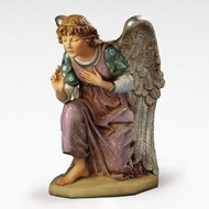 "Fontanini 50"" Kneeling Angel. Marble Based Resin"