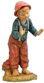 David, Young Boy Nativity Figure 50 Inch Scale