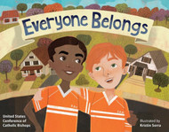 "Inspired by the USCCB's statement ""Open Wide Our Hearts: The Enduring Call to Love, A Pastoral Letter Against Racism,"" Everyone Belongs empowers young readers to reflect on the reality of racism in our society, to see it through the lens of history and faith, and act towards respect, understanding, and friendship.  In this fully illustrated book for children ages 5-12, Ray Ikanga is a young boy whose family fled violence in their home country to come to the United States as refugees. The family moves into a new neighborhood and Ray begins making new friends. His excitement is interrupted, however, when someone spray paints a hurtful message on their garage: ""Go home!""  Everyone Belongs is a book about recognizing the value of our differences, respecting each other, and forgiveness. ​"