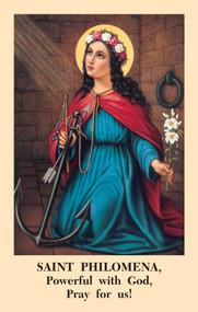 The St. Philomena Novena Prayercard