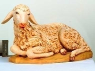 Seated Sheep, Nativity Figure 50 Inch Scale