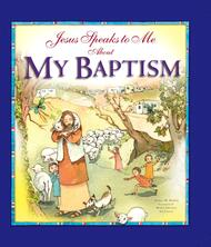 "Most children are baptized as infants. This beautifully illustrated book will endure for years after that special day, helping children to realize that at their baptism, they became a child of God and a member of his family, the Church. Jesus ""speaks"" directly to the children, explaining step by step what happened at their baptism and why. Each part of the rite is linked to a scene from Scripture, such as the story of Noah's Ark and Jesus' own baptism in the Jordan. Pages for photos and other memories make this a thoughtful gift for any child who is being baptized—a gift they will enjoy as they begin to understand the special friendship they have with Jesus..  Hardcover, 48 pages ~ 8.5"" x 9.5"" ~   • Includes prayers as well as illustrations of the objects used in the Rite of Baptism, such as the baptismal font and the Easter candle.  Especially appropriate for children ages 7 to 11"