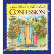 "In this book, Jesus speaks lovingly to children about the Sacrament of Reconciliation. Each step of the sacrament is explained through beautifully illustrated Bible stories such Joseph forgiving his brothers, Jesus encountering Zacchaeus, and the parables of the prodigal son and the lost sheep. This keepsake book makes a wonderful gift for any child preparing for first Penance.  Includes an examination of conscience for children as well as the Act of Contrition and other prayers.  Hardcover. Dimensions:   8.25"" x 9.5"".  Especially appropriate for children ages 7 to 11"