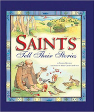 "Who can tell the stories of the saints better than the saints themselves? In this beautifully illustrated book, twenty-six saints tell the story of their lives to kids in a simple and personal way. From the Blessed Virgin Mary to Blessed Mother Teresa of Calcutta, each saint comes to life in this book. And each one has something important to tell kids about God and the way he works in our lives. Saints were real people who loved God above all else, and this book will help kids understand why we honor them and why they are the perfect companions for our own faith journey.  Among the other saints included in this delightful book are St. Joseph, St. Peter, St. Paul, St. Nicholas, St. Patrick, St. Francis of Assisi, St. John Bosco, St. Bernadette, St. Thérèse of Lisieux, and St. Maximillian Kolbe. For ages 4 to 8. Hardcover. Written by Patricia Mitchell. Dimensions: 9.5""  x 8.25"""