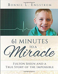 After a healthy pregnancy, on September 16, 2010, Bonnie L. Engstrom delivered a stillborn baby boy. After sixty-one minutes, just when the doctors were going to call a time of death, James Fulton's heart began to beat.In that sixty-one minutes, the Engstroms had been asking for and counting on the powerful intercession of James's namesake: Archbishop Fulton J. Sheen.  That James was alive at all was a miracle. But the rest of the story is even more amazing. While the Engstroms were preparing for their little boy to grow up blind, unable to walk or talk, and be fed by a tube for the rest of his life, another miracle occurred. Against all medical odds, James not only survived, but he began - and continues - to thrive. In 2014, medical experts and theological advisors to the Congregation for the Causes of Saints unanimously approved the miracle.  This amazing true story, full of weakness and strength, heartbreak and celebration, hope and joy, teaches us that through our faith in Christ and the prayers of the great cloud of witnesses, miracles are possible.