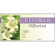 "Easter Lillys. Standard Offering Envelopes (3 1/8"" x 6 1/4""). Price per 100"