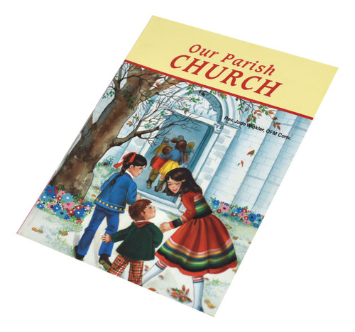Our Parish Church by Rev. Jude Winkler, OFM Conv. This picture book is written especially for children to better understand our Catholic faith. Acquaints children with what they see in their own parish. Full-color illustrations. 5 1/2 X 7 3/8
