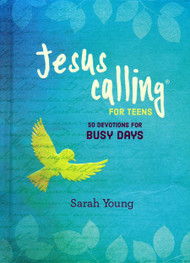 Before you charge into the busy day, take a few minutes to equip yourself. Jesus Calling ®: 50 Devotions for Busy Days brings the warmth and insight that more than 25 million people enjoyed through Jesus Calling ® and curates these devotions specifically to prepare you to handle busy days by setting aside your worries and enjoying God's peace. Jesus Calling ®: 50 Devotions for Busy Days features 50 topical readings from Jesus Calling ® combined with relevant Scripture verses on the topics of peace, calm, and perspective. This book is part of a three-book series for teens, each focusing on a felt need. The other two books in the series focus on themes of thankfulness and growing in faith. These books are great for an individual study and make a great set for gift giving. Readers around the world already love how Sarah's words help them connect with Jesus. Now the new Jesus Calling ® topical devotionals offer a way to focus even more deeply on the major felt needs in your life... and the lives of your friends, family, church, school, and friends.