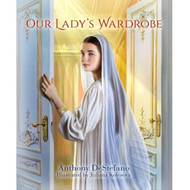 Our Lady's Wardrobe has beautiful illustrations for children to learn more about Mary through her clothes. In this book are stories about Our Lady's garments and her apparitions.  A sweet book for children as they learn about their faith. This delightful rhyming book introduces Catholic children to the Blessed Virgin Mary in a fun and simple way—through her clothes!  When Our Lady lived in Nazareth two thousand years ago, she was very poor and probably didn't have many nice things to wear. But now that she's in Heaven, she has an enormous mansion. And in that mansion she has an incredibly beautiful wardrobe filled with a great variety of dresses, veils, slippers, sashes, robes, rings and crowns. Over the centuries, Our Lady has visited the people of Earth many times. On each of these occasions she has dressed very differently. Our Lady's Wardrobe tells the story of some of her most famous apparitions, highlighting the clothes she wore and the things she did.  By reading this book, children will not only learn about the Mother of God, but will also learn the main purpose of her life—to love and serve her son, Jesus Christ, and to lead others to do the same.  A sweet book for children for First Communion.