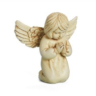 """2.5"""" Praying Worry Angel. This 2.5"""" praying angel will help take those worries away as you hold her in your hands.  The Worry Angel is made of a resin/stone mix."""