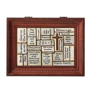 Roman The Holy Spirit Brown Small Insert Music Box