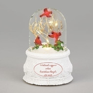 Image of the Musical LED Dome With Cardinals sold by St. Jude Shop.