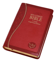 Supple material, blind embossing, foil stamping, precise stitching and decorative gilding combine to provide an exquisite and unique package for the Word of God. The distinctive features of our St. Joseph Editions, including new maps and Confirmation Record, complete this handsome gift. Bible can be imprinted. *Imprinting available at an additional cost. 2 LINES ONLY, UP TO 30 LETTERS, NUMBERS, AND SYMBOLS. Please allow 7-10 days for imprinting.