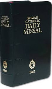 1962 Latin-English Daily Missal for the laity since Vatican II. This is the most complete missal ever produced in the English language. We have included everything in a missal that is affordable while being of the highest durability. See Product Description for many more details