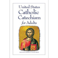 The presence of the Catholic Church in the United States reaches back to the founding days of our country through the leadership of Archbishop John Carroll, the first Catholic bishop in the United States. His story, like other stories at the start of the chapters in the United States Catholic Catechism for Adults, gives us a glimpse into the lives of Catholics who lived out their faith throughout our country's history. Each chapter in the United States Catholic Catechism for Adults includes stories, doctrine, reflections, quotations, discussion questions, and prayers to lead the reader to a deepening faith. The United States Catholic Catechism for Adults is an excellent resource for preparation of catechumens in the Rite of Christian Initiation of Adults and for ongoing catechesis of adults. The United States Catholic Catechism for Adults is an aid and a guide for individuals and small groups to deepen their faith. The online resources listed at the left provide suggestions on how to use the United States Catholic Catechism for Adults effectively in the home and parish.