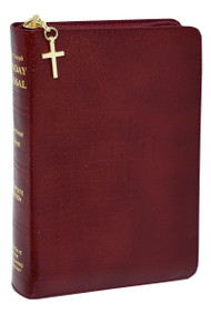 "St Joseph Sunday Missal. The St Joseph Sunday Missal is the Complete Edition in Accordance with the Roman Missal. St Joseph Sunday Missal has a Burgundy Bonded Leather cover with Zipper close. The missal measures 4 1/4"" X 6 1/4"" and has 1600 pages"