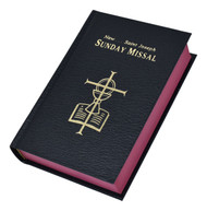 "St Joseph Sunday Missal. The St Joseph Sunday Missal is the Complete Edition in Accordance with the Roman Missal. St Joseph Sunday Missal has a black cloth  hardcover with colored edges. The missal measures 4 1/4"" X 6 1/4"" and has 1600 pages. Missal comes gift boxed"