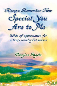 The special people in our lives are absolutely priceless. They're the ones who bring us so many smiles and inspire such gratitude in our days. These precious individuals come from all walks of life; they're both young and old, family and friends, and women and men. Everyone has someone who deserves to hear the words in this marvelous book... and who would love to be touched by this kind of appreciation. You Are Very Special to Me is the very definition of the perfect gift, and it is one of the nicest presents any person can receive. Save it for a certain occasion coming up on the calendar... or give it as a sweet surprise to somebody who makes every day a special one. Eloquent, heartfelt, and exquisitely illustrated... this is a keepsake that will be treasured forever.