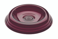 "The Sacred Series Bread Dish Insert is a highly polished, translucent  polycarbonate dish.   The mini bread dish is designed to be placed in the center of the AT700 communion tray taking the space of 8 cups. This allows the bread and juice to be served in a single tray. Made of purple translucent polycarbonate for strong durability. Holds approx. 40 bread squares. Size: 5"" dia. x 1 1/8"" h.  1 lb.  (Polycarbonate is a highly durable material. Although it has high impact-resistance, it has low scratch resistance - just like eyeglasses. Thus, Sacred Series communion ware won't break when dropped on the floor. Wash items in warm water and dry with a clean soft cloth. If needed, use mild liquid detergent or gentle hand soap.  This is a light weight product and thus is not difficult to pass from one person to the next during communion services)"