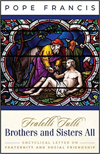 """Fratelli tutti (All Brothers) is the third encyclical of Pope Francis, subtitled of """"on fraternity and social friendship"""". In the document, Francis states that the COVID-19 pandemic has proven the failure of the world to work together during the crisis. The encyclical calls for more human fraternity and solidarity, and is a plea to reject wars.  The document was signed on 3 October 2020, on the occasion of Pope Francis's visit to the tomb of his namesake, Saint Francis of Assisi, and was published the following day, the saint's feast day."""