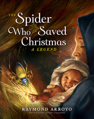 The Spider That Saved Christmas tells the tale of what happened to the Holy Family on their way to Egypt after receiving the message of the angel. When Joseph, Mary, and Jesus are in danger of being discovered and harmed by Herod's murderous soldiers, a cave-dwelling spider named Nephila risks her and her children's safety to help her hallowed visitors. Majestically illustrated by artist Randy Gallegos, EWTN host Raymond Arroyo's moving story sheds new light on a family of Golden Silk Orb Weavers, whose silk is considered the most precious of all and is displayed at Christmastime in the sparkling tinsel that glints from evergreen trees the world over. After reading this book, you'll always remember Nephila in the twinkling tinsel. Though small and feared, she met divinity and reflected His light as only she could. Like each of us she was there for a reason.