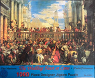 "The Wedding Feast at Cana 1000 Piece Puzzle by Artist Paul Veronese.  The Wedding Feast at Cana 1000 Piece Jigsaw Puzzle measures 27"" x 19"". Its a long winter ahead. Puzzles are something for yourself to do or the entire family can work on together!"