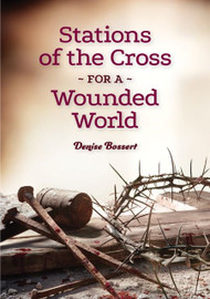 If you suffer from something traumatic like war, the death of a loved one, or an accident, the aftershocks can haunt you for decades as you sort through memories of violation and violence, tragedy and turmoil, humiliation and horror.   Stations of the Cross for a Wounded World gives you ways to offer up that loss and pain as you walk the stations with Jesus. Author Denise Bossert has drawn from her personal experience with post-traumatic stress disorder and pilgrimages to Jerusalem and the Holy Land to create fifteen Stations of the Cross, culminating in Jesus' resurrection, to help victims of trauma become victors.