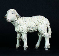 "1950/17 Standing Sheep - Figurines are made of an indestructible white Carrara Marble, Fiberglass and Resine Polyester and are Hand Painted in Traditional Colors Available in 18"", 24"", 30"", 36"" and 48"" Animals in Proportion   Please Contact us at 1-800-523-7604 for Pricing and More Information"