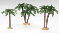 "9.5""H 3 Piece Set Palm Tree for 5"" scale nativity figures."