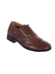 Boy's Leather Wingtip Shoes in various sizes.  Youth Sizes Boy's Leather Wingtip Shoes in various sizes.  Youth Sizes 5,6,7,8,9,10,11,12,13,1,2,3,4,5