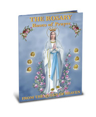 "64 Pages of Simple Easy Instructions on How to Pray the Rosary with Illustrations of all 20 Mysteries and Rosary Prayers. Beautiful Illustrations for every Bible Story by renowned Classical Children's Artist Larry Ruppert. Book Measures 5.5"" x 7.5"""