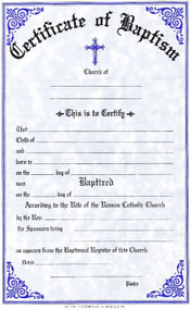 """Confirmation Certificates Measure: 6"""" x 9 1/4"""" and come in pads of 50. All Certificates are Printed on Acid-Free Paper for Long Life. Bilingual certificates are available."""