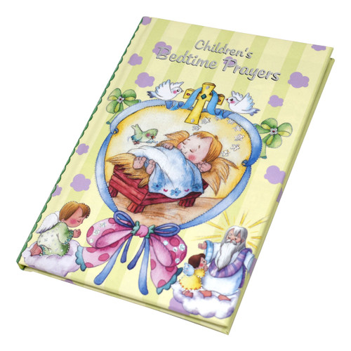 This colorful and sweetly illustrated book offers young believers a number of prayers—to God the Father, Jesus, the Holy Spirit, the Blessed Mother, and their Guardian Angel—to say before bedtime.  Padded Cover. Size: 5-7/8 X 8-1/2 ~ 48 Pages