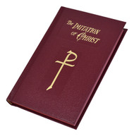 The Imitation Of Christ is a beautiful edition of the original, deeply spiritual book by Thomas à Kempis. In this easy-to-read, prayer book size, readers will experience the peace and wisdom that have comforted Catholics from around the world. The Imitation Of Christ shows how to better live the life of a Christian by closely following Christ's example. This lovely burgundy cloth-covered book also presents sections on the Rosary and the Stations of the Cross illustrated in full color. The Imitation Of Christ will bless all who want to respond to the call to follow Jesus.  Size: 4 X 6 1/4 ~ Pages: 288. Burgundy Hard Cover