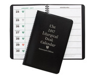 Episcopalian Liturgical Desk Calendar Soft Cover Edition  Easy-to-read display of complete liturgical information and daily readings. Listings given for Holy Days and holidays. Includes two-year calendar summary