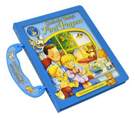 This durably bound handle book is a wonderful way to introduce prayer to God's littlest ones. Offering a carefully chosen mix of well-loved traditional prayers—including the Our Father, the Hail Mary, and the Guardian Angel Prayer—original prayers, and Bible verses, this delightfully illustrated book gently opens up the world of prayer to children. With parent-and-child activities and peek-through windows, this is a book to be treasured by the whole family.