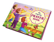"""The bright, vibrant, and eye-catching illustrations in this book will """"pop"""" off the pages to delight little children as they learn simple prayers.  They can flip from page to page to find short prayers:  to Jesus to Mother Mary to an Angel from God to our heavenly Father This colorful book provides children with a gentle introduction to prayer."""