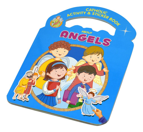 Children will find fun galore in the pages of this book—and the activities will encourage them to learn about Angels in a meaningful way. Among the activities that children will enjoy are these: coloring finding stickers to complete pictures fill-in-the-blanks connect-the-dots unscrambling letters —and more! Simple rhymes will teach children how Angels are true helpers.