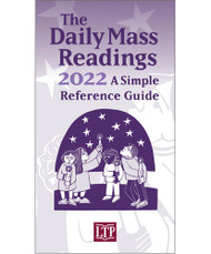 This portable booklet is a simple resource that anyone who follows, needs, or prays with the daily Mass readings can use every day from the First Sunday of Advent through the Saturday of the Last Week of Ordinary Time.  This includes:  Lectionary numbers Biblical citations for the First and Second Reading, Gospel, and Responsorial Psalm Titles of solemnities, feasts, and memorials Liturgical colors Holy Days of Obligation Can be used by:  Liturgists, music directors Priests, deacons, and pastoral associates Teachers and catechists Prayer groups, other ministers, individuals  Saddlestitched | 4 1/8 x 7 1/2 | 48 pages | Language: English