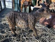 "28"" tall standing goat Nativity piece."