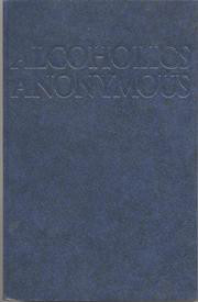 "Soft Cover Edition -The ""Big Book"" of Alcoholics Anonymous~Fourth Edition. Includes twenty-four new stories that provide contemporary sharing for newcomers seeking recovery from alcoholism in A.A.  This fourth edition has been approved by the General Service Conference of Alcoholics Anonymous."