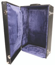 """Velvet lined carrying case for monstrances with a maximum dimensions of  24-1/2""""H., 15"""" face and 9-3/4"""" base."""