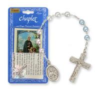 St. Gerard Chaplet and Prayer Card