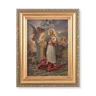 "St. Joseph ""Terror of Demons"" Framed Print. Meaurements: 4.5"" x 6.5"""