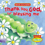 """Little Herbie is thankful for many things in his garden home, like plenty of food, beautiful flowers, and good friends. Seeing the blessings around us isn't always easy, but Little Hermie shows pre-school age children to remember to say """"Thank you God!"""" in a way that is irresistible for parents and kids! 10 Page Board Book"""