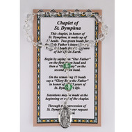 ST. DYMPHNA CHAPLET WITH CARD