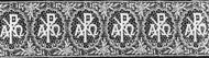 "Chi Rho Design - 4-3/4"" width Lace Insertions priced by the yard"